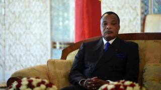 Le Président Congolais Denis Sassou N'guesso