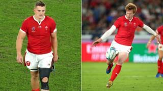 Jonathan Davies a Rhys Patchell