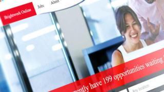 Brightwork Recruitment website screen grab