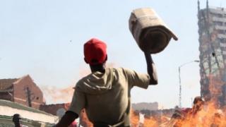 ઝિમ્બાબ્વેમાં હિંસા