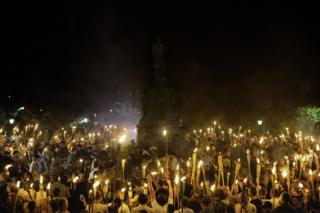 Torch march