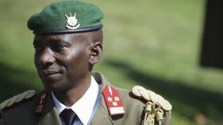 Jenerali Prime Niyongabo, umukuru w'ibiro vya gisirikare w'u Burundi