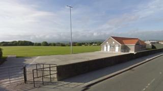 Cornelly United's home ground on Meadow Street