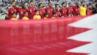 صورة جماعية لمنتخب قطر
