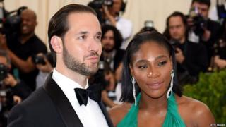 Serena Williams na Alexis Ohanian
