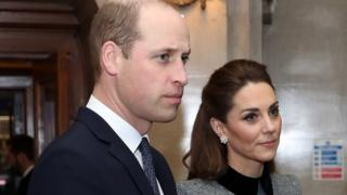 The Duke and Duchess of Cambridge at the UK Holocaust commemoration event