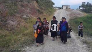 Más de 5.000 personas indígenas fueron desplazadas por la violencia en Chiapas. (Foto: Marcelo Pérez Pérez)