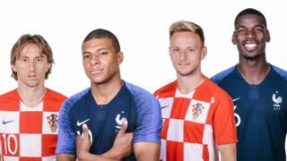 يلتقي منتخبا فرنسا وكرواتيا، الأحد 15 يوليو/ تموز، في نهائي بطولة كأس العالم