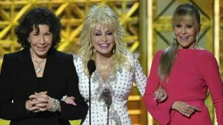 Lily Tomlin, Dolly Parton and Jane Fonda