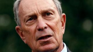 Michael Bloomberg, who is considering running for US president