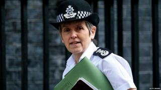 Cressida Dick outside Downing Street