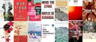 The 13 longlisted books