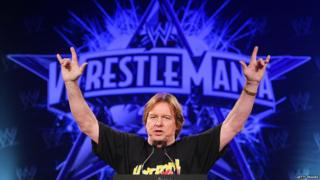 Rowdy' Roddy Piper attends the WrestleMania 25th anniversary press conference at the Hard Rock Cafe on March 31, 2009 in New York City