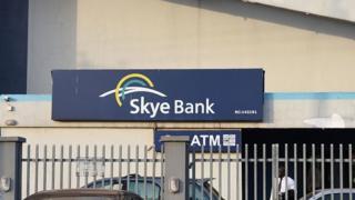 Skye Bank office