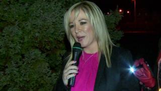 Sinn Féin's leader in Northern Ireland, Michelle O'Neill, defended her decision to attend the event