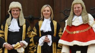 The justice secretary and Lord Chancellor Liz Truss