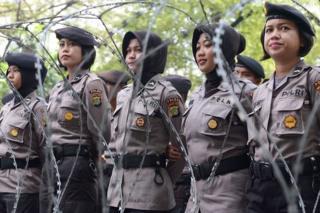 ตำรวจหญิงอินโดนีเซีย