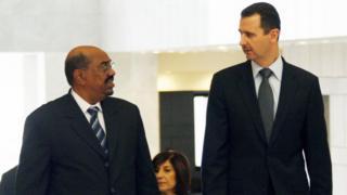 البشير لن يكون الرئيس العربي الوحيد الذي يزور سوريا، بحسب صحف عربية