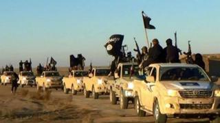 İD silahlıları Raqqada