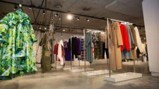 英國時裝協會NEWGEN推崇新人項目在時裝周為設計師Marta Jakubowski做的展示。