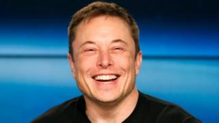 Elon Musk, fundador e diretor da Tesla