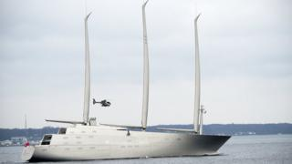 Sailing Yacht A off Denmark, 6 Feb 17