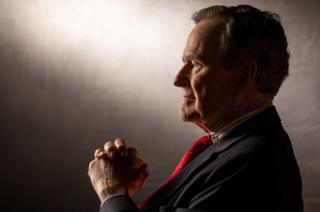 George HW Bush in 2011