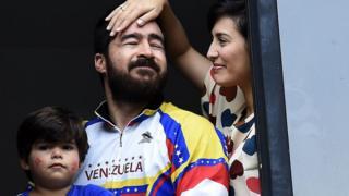 Daniel Ceballos y su esposa, Patricia de Ceballos.