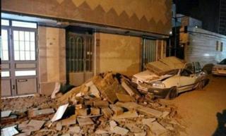 زلزله سال گذشته در کرمانشاه مرگبارترین زلزله سال ۲۰۰۱۷ بود