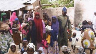 Yaran da sojoji suka ceto a hannun Boko Haram