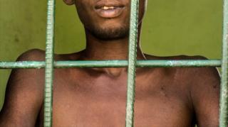 Man behind bars in rehab centre