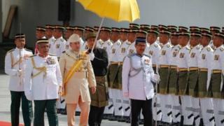 Sabon sarkin Malaysia, wanda ya yi karatu a Ingila