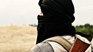 Представитель радикальных исламистов