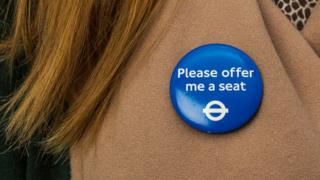 Please off me a seat badge