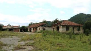 A derelict farm in Bulgaria