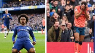 Ode iya ni Everton lọ pẹlu bi Chelsea ṣe fi iya ajẹbolori ṣe wọn lalejo ni Stamford Bridge.