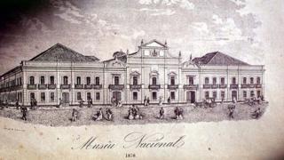 Ilustração do Museu Nacional em 1870