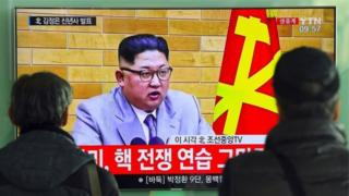Kim Jon Un, perezida wa Koreya ya ruguru
