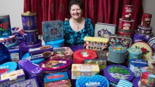 Gill Cocks' Cadbury collection