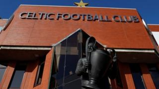 Celtic stadium entrance