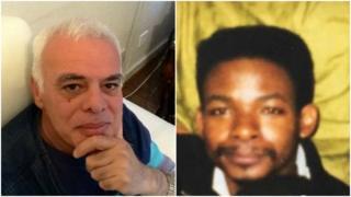 Hesham Rahman (left) and Ernie Vital