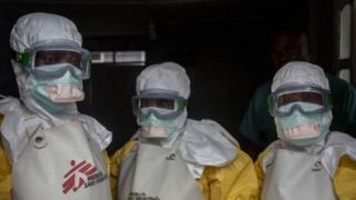 Wafanyakazi wa huduma za afya wamepatiwa chanjo dhidi ya virusi vya Ebola