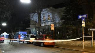 Iranian ambassador's residence in Vienna
