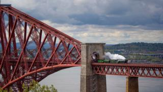 The Flying Scotsman steam train