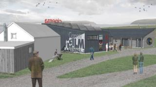Artist's impression of cinema