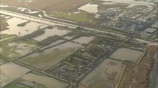 Flooding in Hull