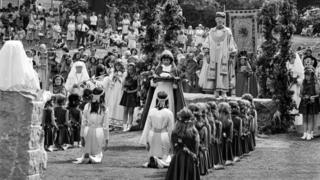 Seremoni Eisteddfod 1977