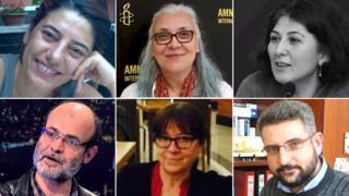 Büyükada'da gözaltına alınan insan hakları savunucuları