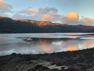 Loch Striven sunrise
