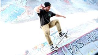 Skateboarder (generic image)